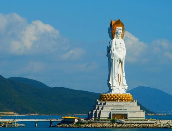 Центр Буддизма Наньшань - остров Хайнань