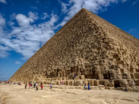 Пирамида Хеопса история