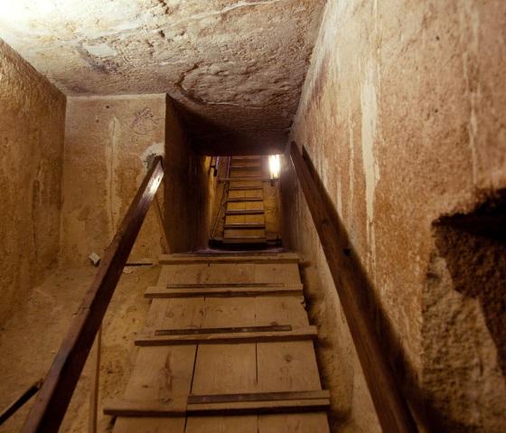 Проход в пирамиде Хеопса