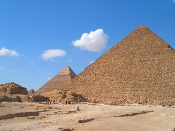 Пирамида Хеопса строительство