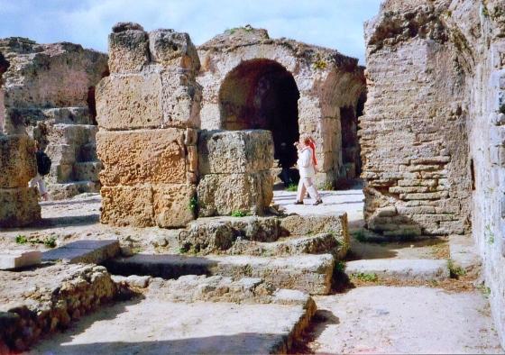 Термы Карфагена и его руины