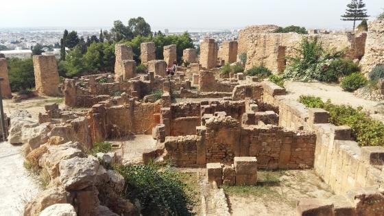 Руины Карфагена - Карфаген фото