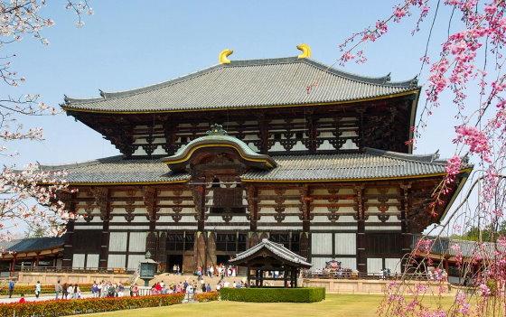 Главный зал храма Тодай-дзи