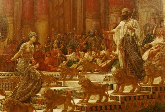 Визит Царицы Савской к Царю Соломону - Эдвард Пойнтер