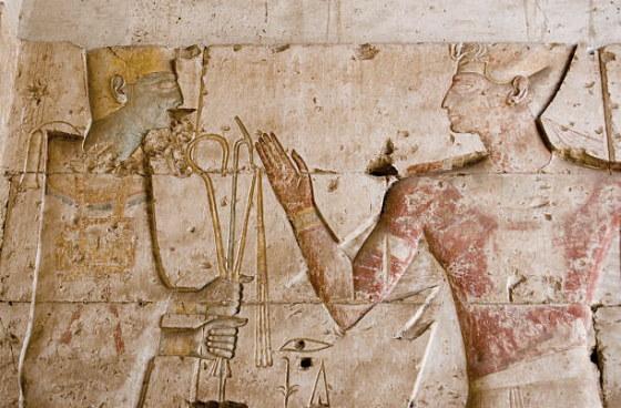 Бог Птах и фараон Сети, Абидос - храм бога Осириса. ancient-east.ru