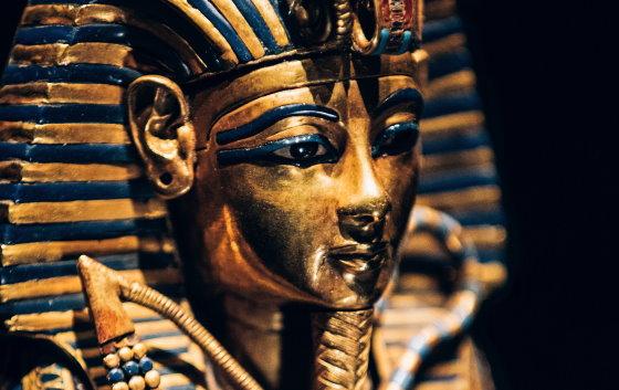 Погребальная маска Фараона Тутанхамона. ancient-east.ru. Египетский национальный музей, город Каир.