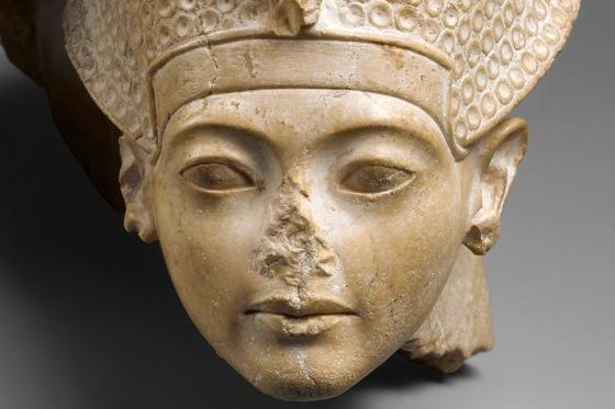 Голова статуи Тутанхамона, Амарнский период ancient-east.ru
